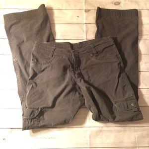 Kuhl Splash Roll Up Hiking Cargo Pants Size 6